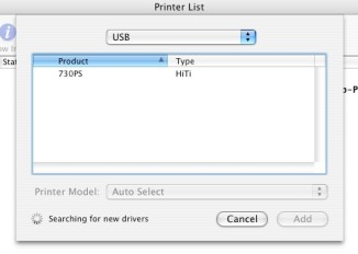 Apple Mac Driver for  HiTi Photo Printers Installation steps