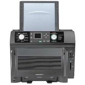 Memory cards can be taken straight from the camera and inserted into the Olympus P440 Dye Sublimation Photoprinters