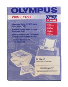 Olympus P400 / P440 A4 Photo Paper for Professional Quality Superior Photo Prints