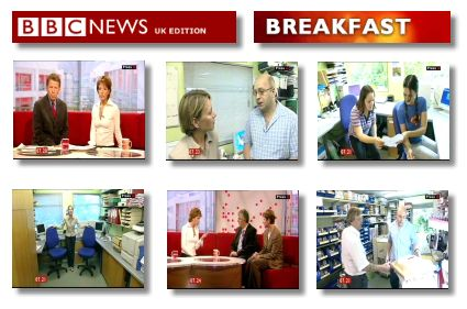 Did you see us on TV - System Insight featured on the BBC Television Breakfast Programme